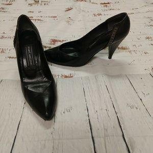 Vintage Stuart Weitzman black heels